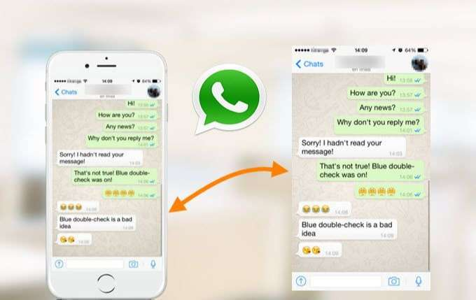 Whatsapp messages to chat with girls on smartphone